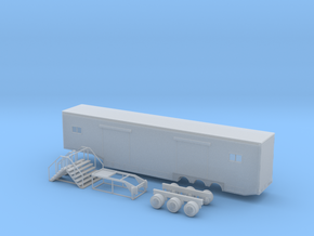 N 53' Drop Floor Trailer v2 in Frosted Ultra Detail