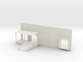 Rail Dock Combo #1 in White Natural Versatile Plastic