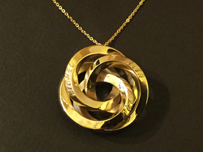 Infinite Harmony Pendant in 14k Gold Plated