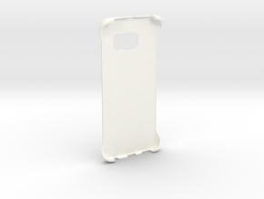 Customizable Samsung S6 Edge case in White Processed Versatile Plastic