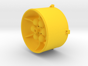 LISA Propulsion Module, 1/58 scale in Yellow Processed Versatile Plastic