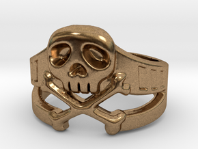 Space Captain Harlock | Ring Size 8 in Natural Brass: 8 / 56.75