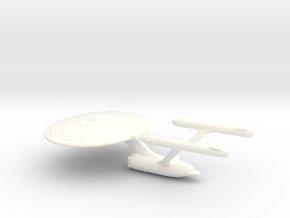 Uss Chester  in White Processed Versatile Plastic