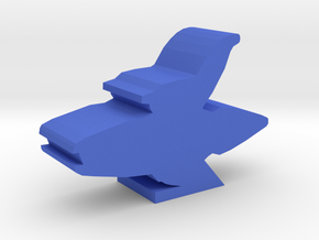 Game Piece, Bone Federation Light Cruiser in Blue Strong & Flexible Polished