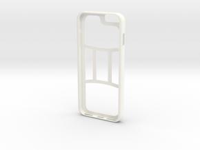 Gemini Iphone Thin Custom in White Processed Versatile Plastic
