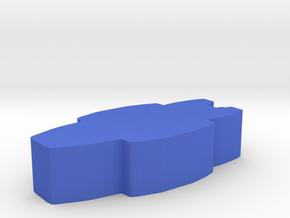 Game Piece, Colonial Republic Carrier Cruiser in Blue Processed Versatile Plastic