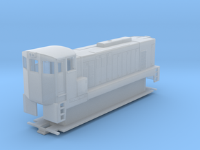 HO Scale EMD GA8 w/Bachmann N Scale F7 Adapter in Smoothest Fine Detail Plastic