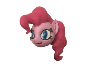 Custom Pinkie Pie My Little Lego Pony in White Strong & Flexible Polished