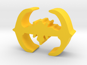 Game Piece, Core Union Space Station in Yellow Strong & Flexible Polished
