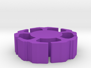 Game Piece, Clone Masters Space Station in Purple Processed Versatile Plastic