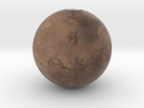 Mars in Full Color Sandstone