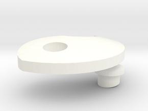 Yin-yang-Element-L (Part 2) in White Processed Versatile Plastic