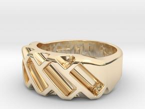 US6 Ring XVII: Tritium in 14K Yellow Gold
