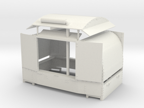 A-1-19-protected-simplex-both-doors-open in White Natural Versatile Plastic