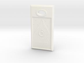 Love Stone - French in White Processed Versatile Plastic
