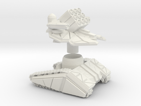ZTEST DF -TANK - MEDIUM - ARTILERY Scaled To 41 Mm in White Natural Versatile Plastic