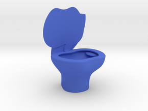 iPoo Toilet Apple iPad Pencil Holder in Blue Processed Versatile Plastic
