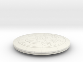 Confession Dial (Simple Version) in White Natural Versatile Plastic