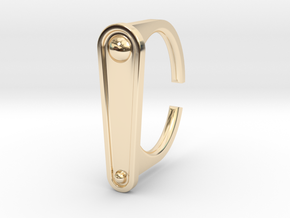 Ring 5-2 in 14k Gold Plated Brass
