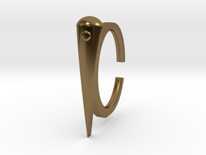 Ring 2-4 in Polished Bronze