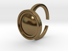 Ring 4-4 in Polished Bronze