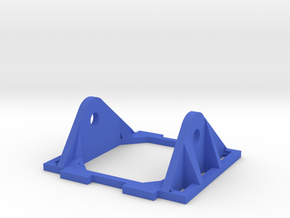 Reinforced FPV Camera Mount HS1177 in Blue Strong & Flexible Polished
