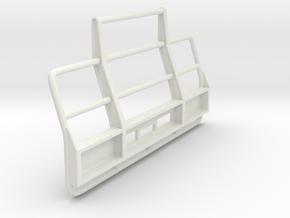 Superliner-bull-bar in White Natural Versatile Plastic