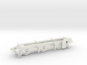 LB&SCR E2  - 00 Chassis in White Strong & Flexible
