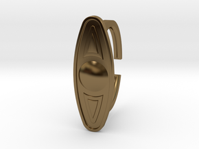Ring 5-6 in Polished Bronze