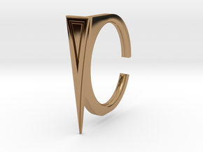 Ring 2-7 in Polished Brass