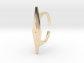 Ring 5-8 in 14k Gold Plated Brass