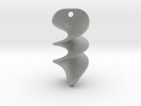 012 NECKLACE in Metallic Plastic