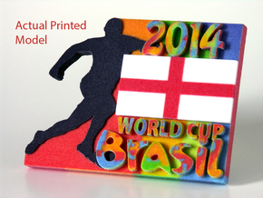 2014 World Cup - England in Full Color Sandstone