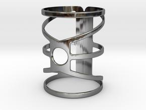 C2.3STL in Fine Detail Polished Silver