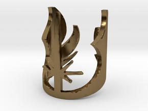 Star Wars Jedi, Size 7 in Polished Bronze
