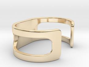 Bracelet, size 1, embossed - 51x22 in 14K Yellow Gold