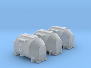 EFKR Dry Bulk Container - TTscale in Smooth Fine Detail Plastic
