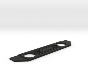 Axial SCX10 Deadbolt Front Grill in Black Natural Versatile Plastic