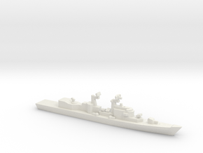 Audace-Class DDG (1989) w/ Barrels, 1/3000 in White Strong & Flexible