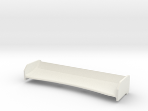 Mini-Z Spoiler Enzo v2 in White Natural Versatile Plastic