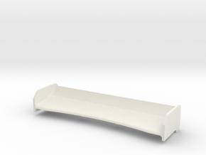 Mini-Z Spoiler Enzo v2 in White Natural Versatile Plastic