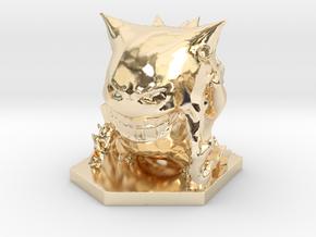 Proton Pack Gengar in 14K Yellow Gold