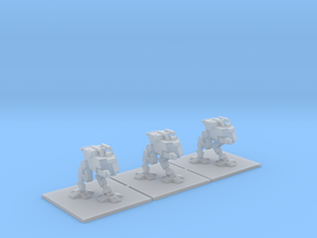 [3mm] 3x Airborne Close Support Walker in Smooth Fine Detail Plastic