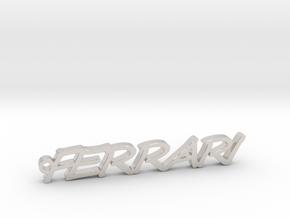 Pendant Ferrari Gold & precious metals in Platinum