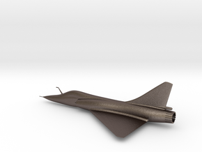 Dassault Mirage 2000 gold 100mm in Polished Bronzed Silver Steel