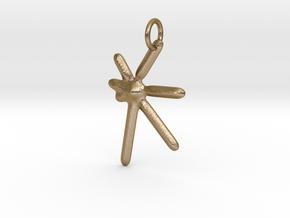 Kuumba (Creativity) KWANZAA SERIES in Polished Gold Steel