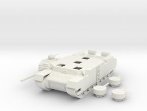 Type 100 O-I Super Heavy Tank 1/100th  in White Natural Versatile Plastic