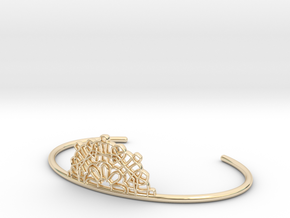 Half Lace Cuff - small in 14K Yellow Gold