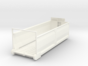 1/64 Diller Silage box 24' in White Processed Versatile Plastic
