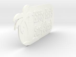 Surf in White Processed Versatile Plastic